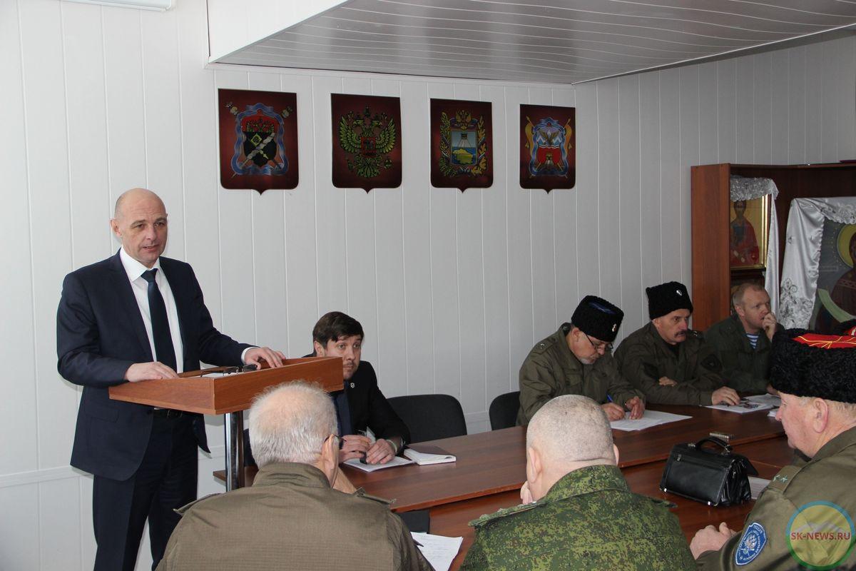 Комитет по делам национальностей Ставрополья продолжит укреплять экономику казачьих обществ
