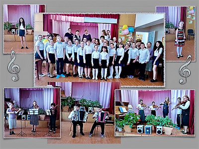 Благодарим учащихся и преподавателей Георгиевской ДМШ